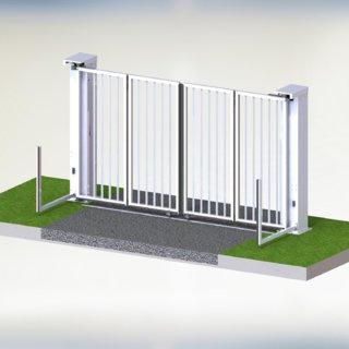 Speedgate Ondergeleiding 3D binnenaanzicht